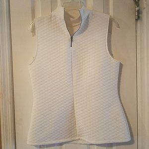 Large off white vest by the maker APT.9